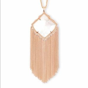 Kendra Scott Kingston Necklace in Ivory Pearl NWT